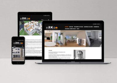 Website eRKa Bauplanung