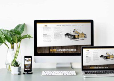 Website Ferienhaus Sonnenscheune