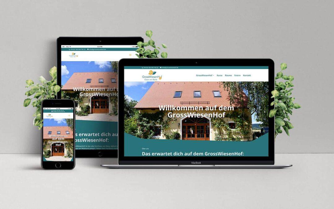 Website GrossWiesenHof